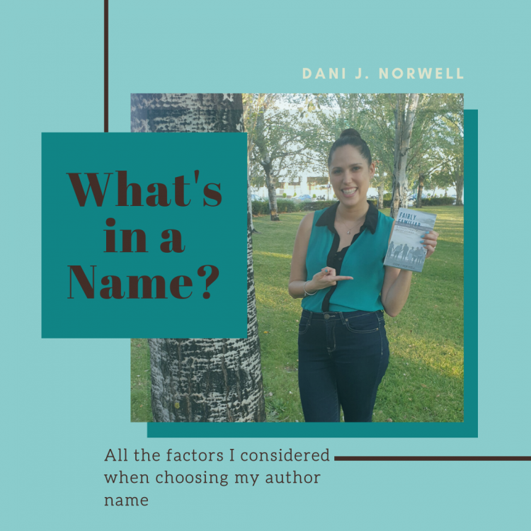 Choosing your author name